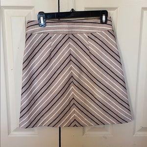 The Loft tweed skirt
